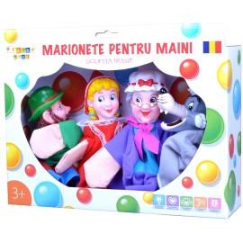 Set marionete pentru maini - Scufita rosie