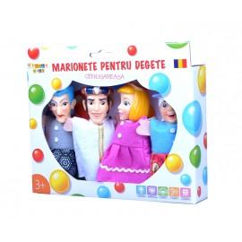 Set marionete pentru degete - Cenusareasa