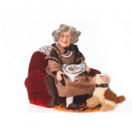 Papusa de portelan - Bunica