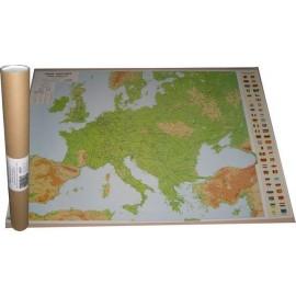 Harta fizica si geografica EUROPA - 67 x 97 cm