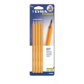 Blister 4 buc Creion STUDIUM