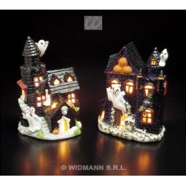 Suport Lumanari Halloween Castel Bantuit