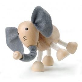Elefant din lemn - Colectia Anamalz