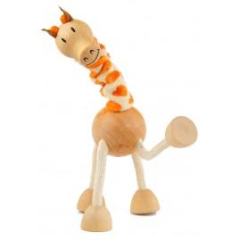 Girafa din lemn - Colectia Anamalz