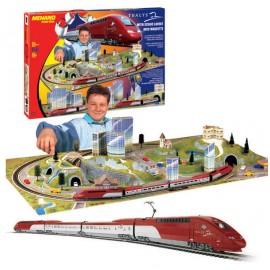 Trenulet Thalis cu diorama (la scara HO)