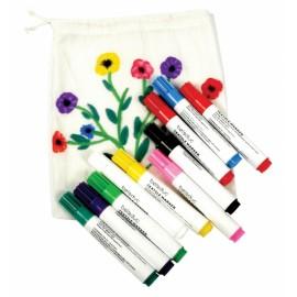 Set 10 carioci pentru textile
