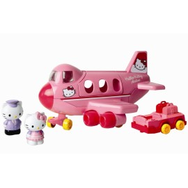 Hello kitty set avion