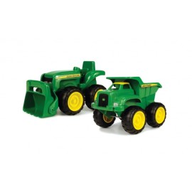 Set Johnny Deere Mini Tractor Si Camion