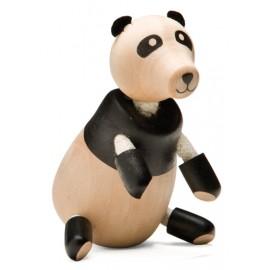 Urs Panda din lemn - Colectia Anamalz