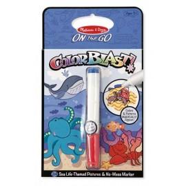 Colorblast - Caiet de activitati viata marina