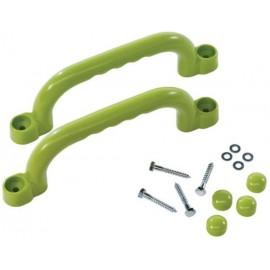 Manere Din Plastic 25cm - Verzi