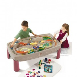 Joc Deluxe Canyon Road Train And Track Table imagine