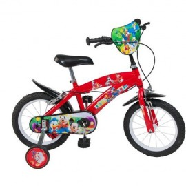 Bicicleta 14 Mickey Mouse Club House, baieti