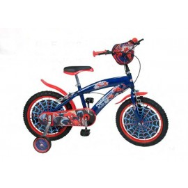 Bicicleta 16 Spiderman
