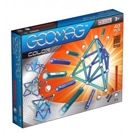 Geomag Kids Color - Set magnetic 40 piese