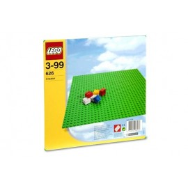 Placa verde LEGO (626)