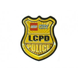 Autocolant LEGO City Police 3D