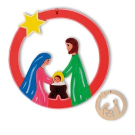Pandantiv de decorat Maria si Iosif