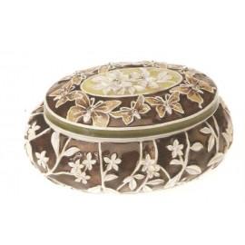 Cutie de bijuterii ovala - 602036