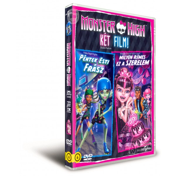 DVD Friday Night Frights si Why Do Ghouls Fall in Love - Monster High