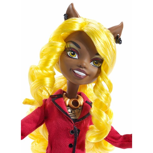 Clawdia Wolf cu accesorii - Monster High Frights Camera Action