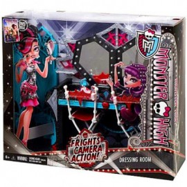 Set de joaca Camera dressing - Monster High Frights Camera Action