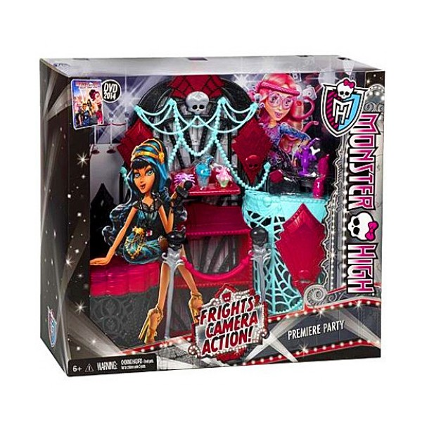 Set de joaca Premier Party - Monster High Frights Camera Action