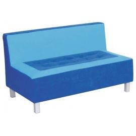 Canapea albastra Premium