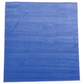 Covor monocrom – albastru 2 x 2 m