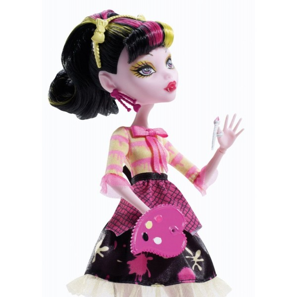 Draculaura - Monster High Art Class