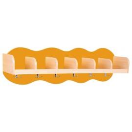 Cuier cu 6 compartimente - portocaliu