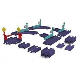 Set de sine Chuggington Die-Cast - intersectii si macazuri