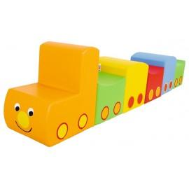 Tren din spuma