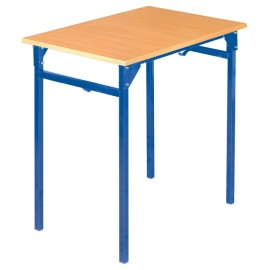 Banca scolara B - 1 persoana 71 cm nr 5 – Albastru
