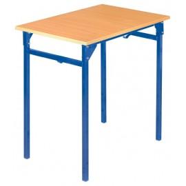 Banca scolara B - 1 persoana 76 cm nr 6 – Albastru