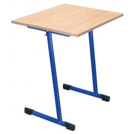Banca scolara T - 1 persoana 64 cm nr 4 – Albastru