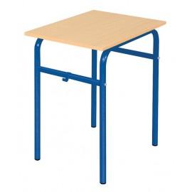 Banca scolara Daniel - 1 persoana 64 cm nr 4 – Albastru