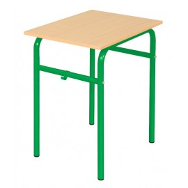 Banca scolara Daniel - 1 persoana 64 cm nr 4 – Verde