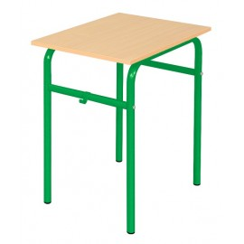 Banca scolara Daniel - 1 persoana 71 cm nr 5 – Verde