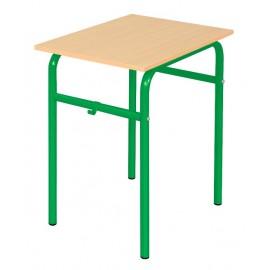 Banca scolara Daniel - 1 persoana 76 cm nr 6 – Verde