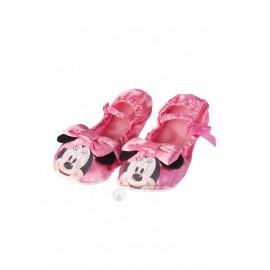 Pantofi balet roz Minnie Mouse
