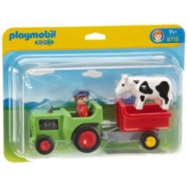 123 fermier cu tractor