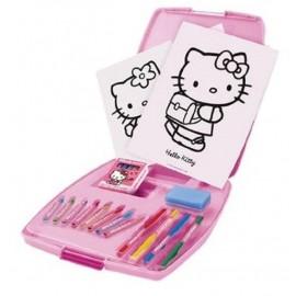 Servieta micului artist Hello Kitty markere creioane colorate Faro