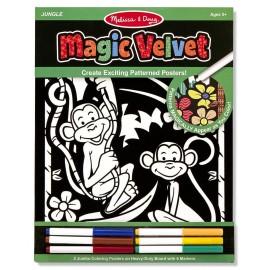 Poster de desenat Catifeaua Magica - Jungla