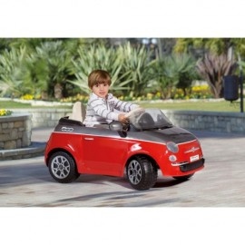 Peg Perego - Fiat 500 Red/Grey