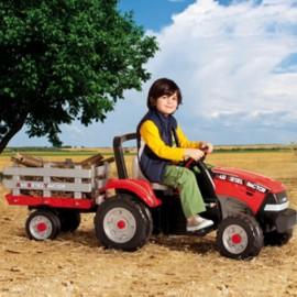 Peg Perego - Maxi Diesel Tractor w/trailer