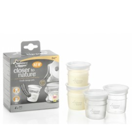 Tommee Tippee - Recipiente De Stocare Lapte Matern x 4 buc