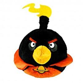 Angry Birds Space Pasare neagra - Figurina de plus cu sunet 13 cm