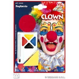 Set pictura fata cu nas de clown