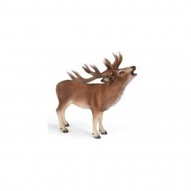 Figurina animal caprioara roscata